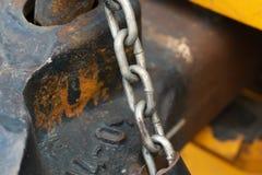Dettaglio di vecchio metallo arrugginito immagine stock libera da diritti