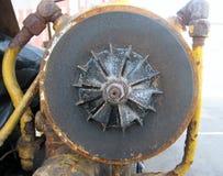 Dettaglio di vecchio motore Fotografia Stock
