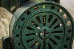 Dettaglio di vecchio strumento di metallo Fotografia Stock