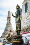 Dettaglio di Wat Arun Temple Fotografia Stock Libera da Diritti