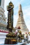 Dettaglio di Wat Arun Temple Immagini Stock