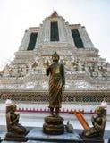 Dettaglio di Wat Arun Temple Immagini Stock Libere da Diritti
