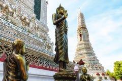 Dettaglio di Wat Arun Temple Fotografie Stock