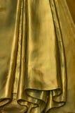 Dettaglio dorato birmano di Buddha Fotografie Stock