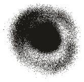 Dettaglio Dots Abstract Vector Backgrounds Set 12 della pittura di spruzzo alto Immagini Stock