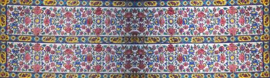 Dettaglio floreale del mosaico Fotografie Stock Libere da Diritti