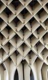 Dettaglio grafico di struttura del parasole di Metropol Fotografia Stock