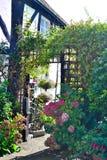 dettaglio grazioso del giardino del cottage Immagine Stock Libera da Diritti