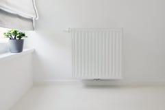 Dettaglio interno con il radiatore Fotografia Stock Libera da Diritti