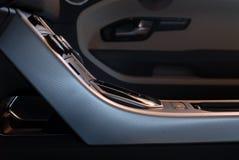 Dettaglio interno dell'automobile Immagine Stock Libera da Diritti