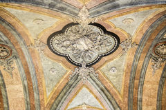 Dettaglio interno della torre di Clerigos (DOS Clerigos di Torre) Fotografie Stock