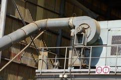 Dettaglio interno di agricoltura del silo Immagine Stock Libera da Diritti