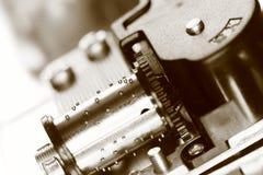 Dettaglio interno di di Music Box Fotografia Stock Libera da Diritti