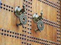Dettaglio islamico della entrata Fotografie Stock Libere da Diritti