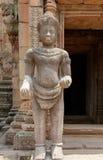 Dettaglio khmer del tempio Immagini Stock
