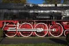 Dettaglio locomotivo Immagine Stock Libera da Diritti
