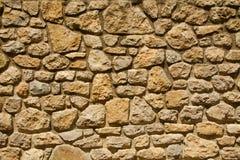 Dettaglio medievale 1 della parete Fotografia Stock Libera da Diritti