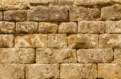 Dettaglio medievale 2 della parete Fotografia Stock