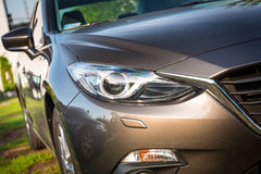 Dettaglio moderno della luce dell'automobile Fotografia Stock Libera da Diritti