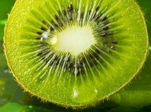 Dettaglio piacevole del kiwi Fotografia Stock