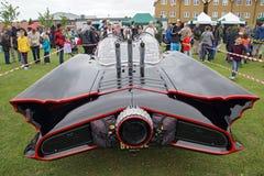 Dettaglio posteriore Batmobile Fotografia Stock