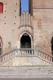 Dettaglio Rimini di Arengo del dell di Palazzo fotografia stock libera da diritti