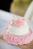 Dettaglio saporito delizioso della torta nunziale Immagini Stock
