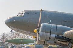 Dettaglio sovietico dell'aereo della seconda guerra mondiale Fotografia Stock Libera da Diritti