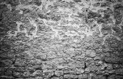 Dettaglio stagionato in bianco e nero 6 della parete Fotografia Stock Libera da Diritti