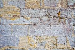 Dettaglio stagionato 5 della parete Immagini Stock