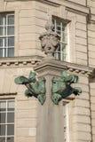 Dettaglio sull'edificio di Cunard, Pier Head, Liverpool Fotografie Stock Libere da Diritti