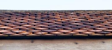 Dettaglio tropicale del tetto Fotografia Stock