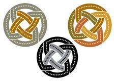 Dettaglio variopinto ornamentale islamico di progettazione di struttura decorativa araba di arabesque dell'illustrazione del mosa royalty illustrazione gratis