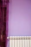 Dettaglio viola della stanza Fotografie Stock Libere da Diritti