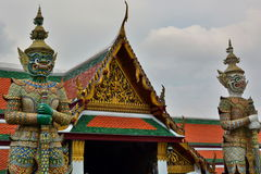 dettaglio Wat Phra Keo Bangkok Tailandia Grande palazzo bangkok thailand Fotografie Stock Libere da Diritti