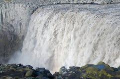 dettifoss冰岛 库存照片