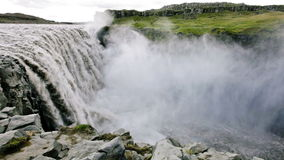 Dettifoss stock video footage