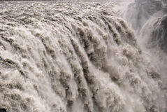 Dettifoss giant waterfall iceland Royalty Free Stock Photography