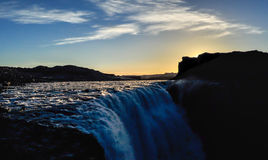 dettifoss Iceland siklawa obraz royalty free