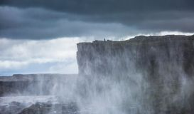 Dettifoss, Iceland. Dettifoss waterfall, Europe`s most powerful waterfall, Iceland royalty free stock photo