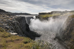 Dettifoss in Iceland Stock Photo