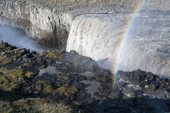 Dettifoss, Island 2011 stock photography