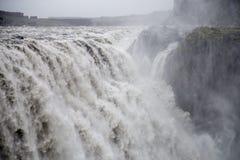 Dettifoss vattenfall Royaltyfri Foto