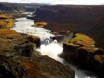 Dettifoss Wasserfall in Island stockbilder