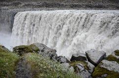 Dettifoss Wasserfall, Island Stockbilder