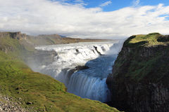 Dettifoss Waterfall. Located in Iceland Stock Photos