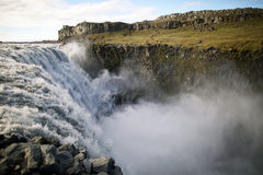 Dettifoss waterfall Stock Photography