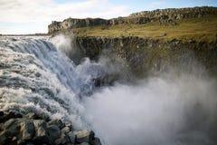 Dettifoss waterfall Stock Photography
