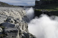 Dettifoss waterfall, Iceland Stock Photography