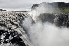 Dettifoss waterfall, Iceland. Royalty Free Stock Photography